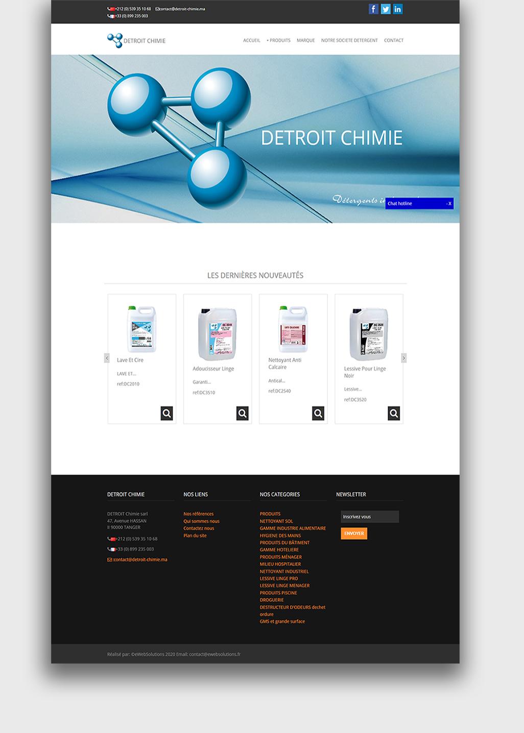 Detroit chimie