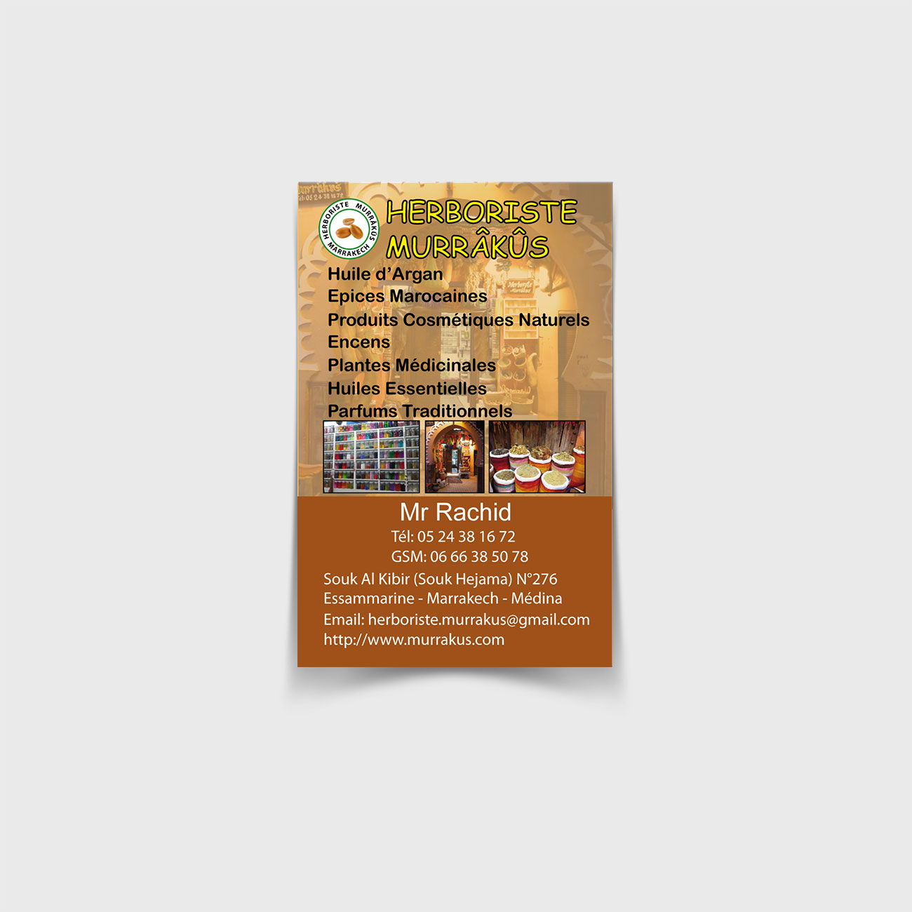 herboriste murrakus carte